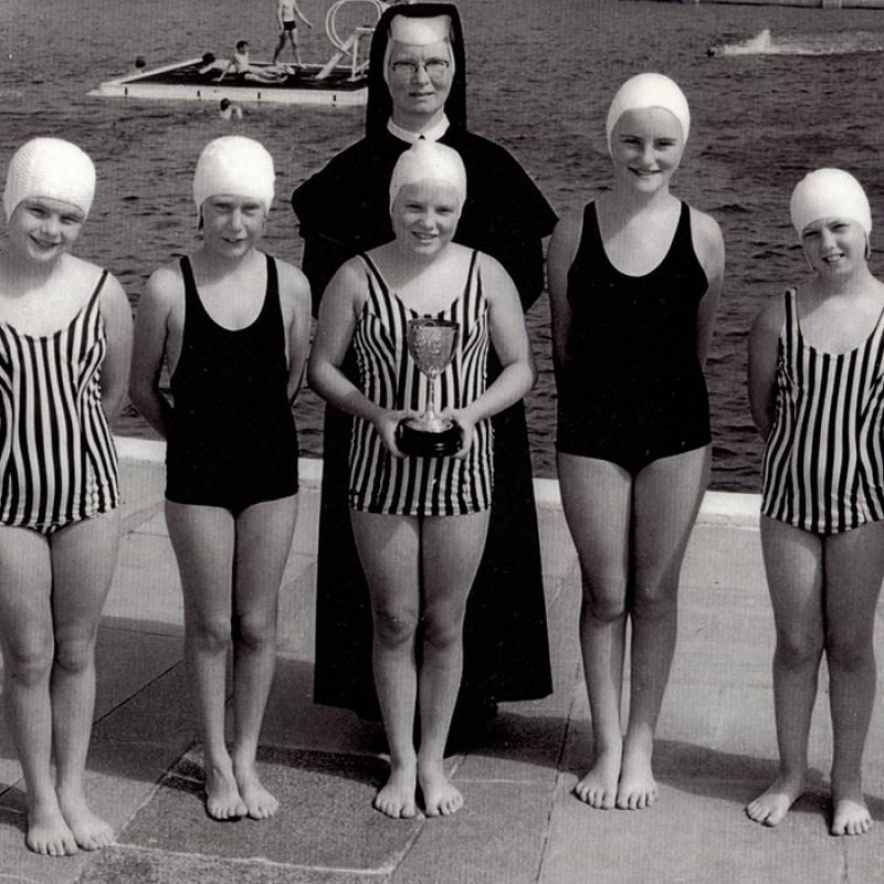 St Gertrude's school swimming competition