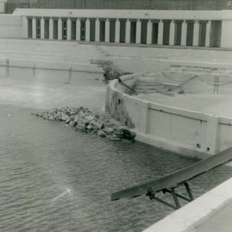Damage and repairs following 1962 storm