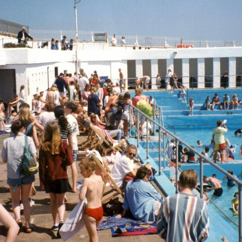 'Grand Re-opening' of Jubilee Pool