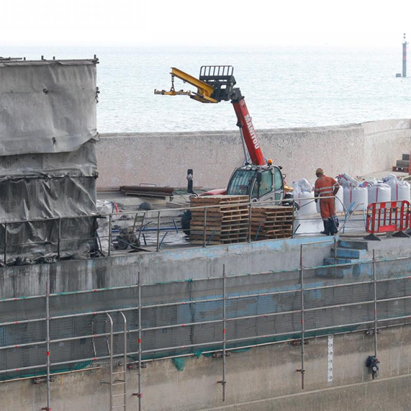 Jubilee Pool repairs and renovation: structural work