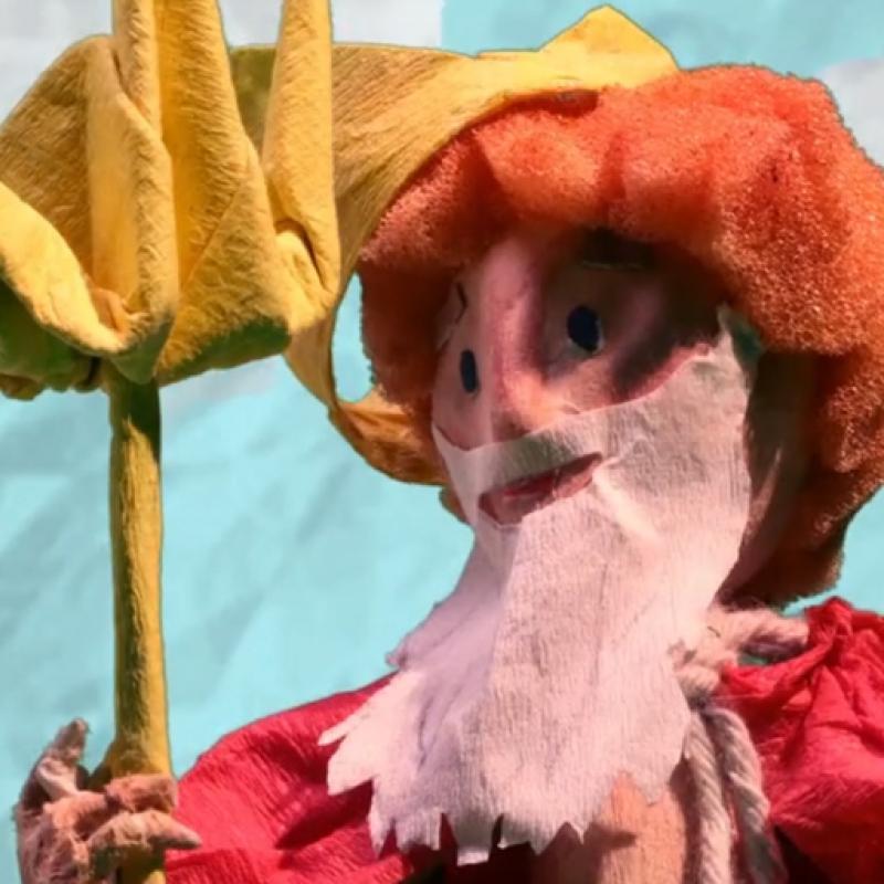 Puppet of King Neptune