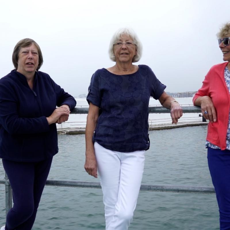 Wendy, Judith and Angela Tresidder talk