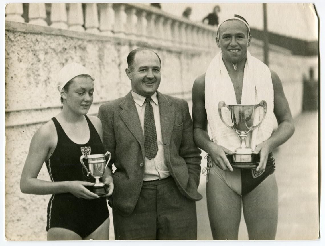 Mervin Luke, President of swimming club