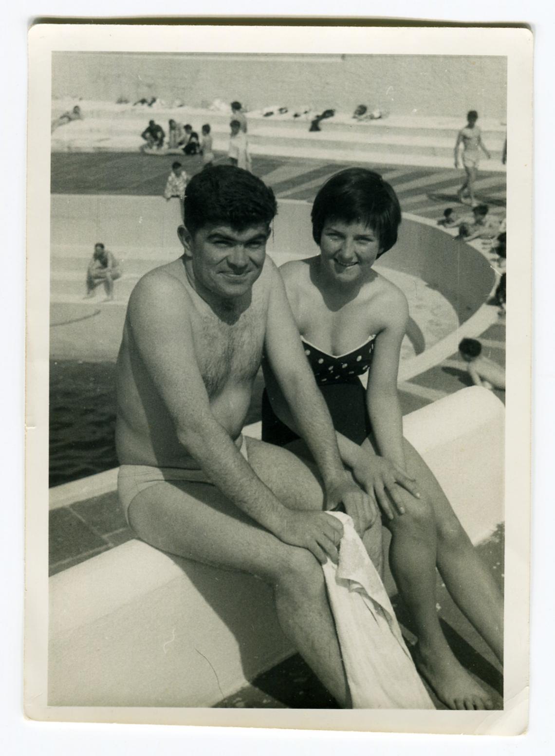 Brian Martin at Jubilee Pool