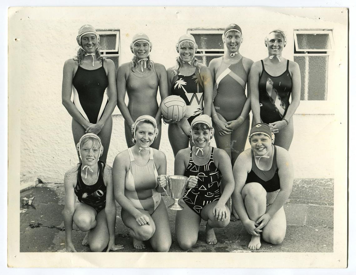 Ladies water polo team, Western Counties winners