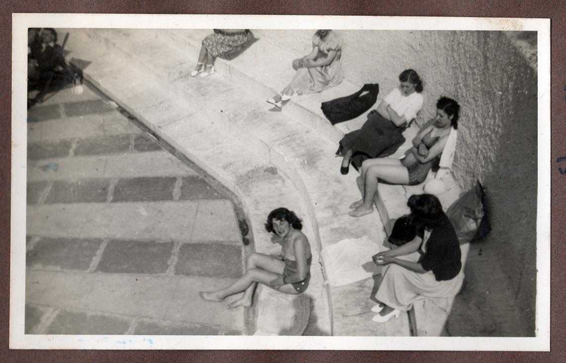Joyce Cooper and her sister, Dorothy Lockett