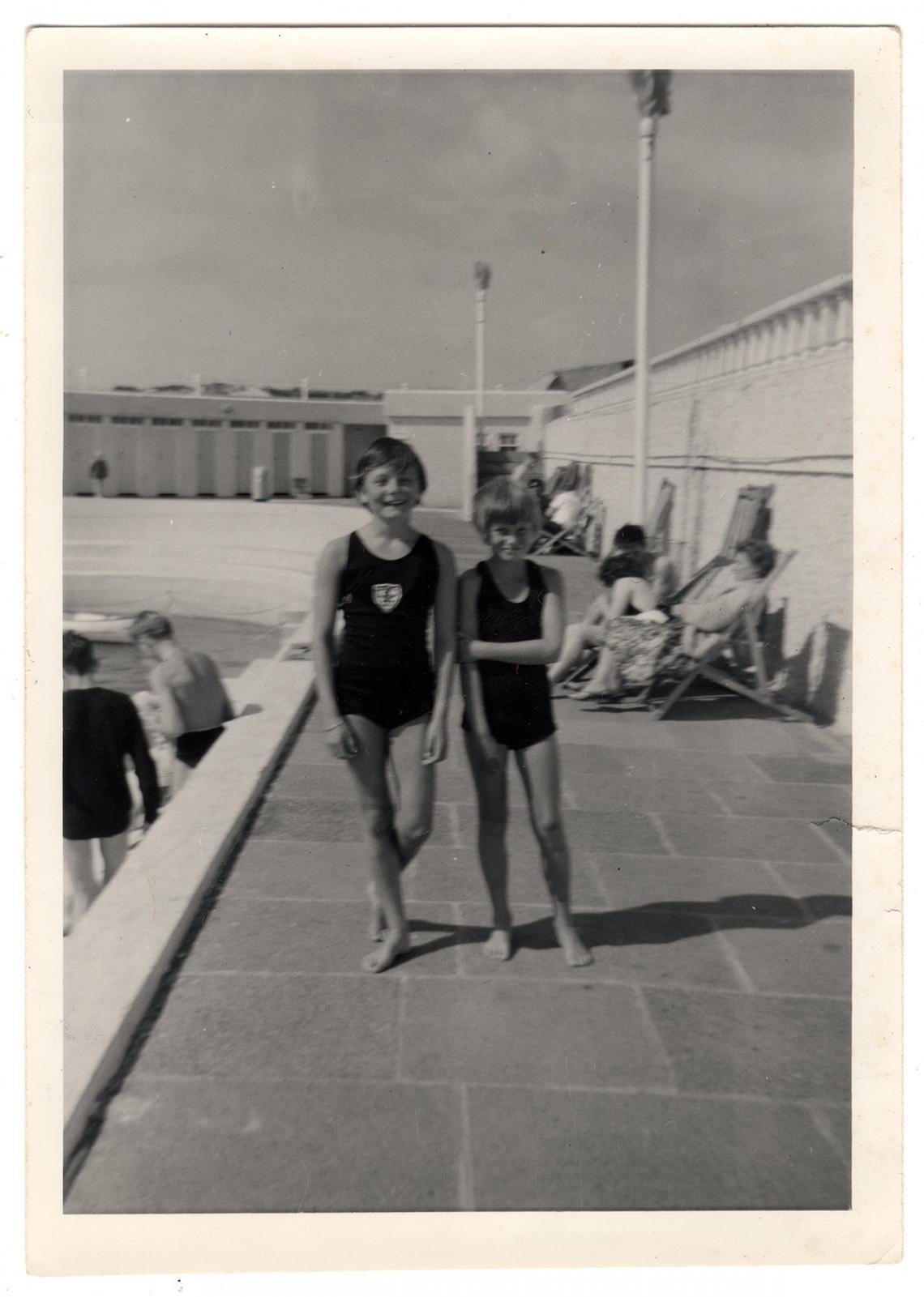 Elizabeth Glover (nee Cooper) and Liz Jilbert