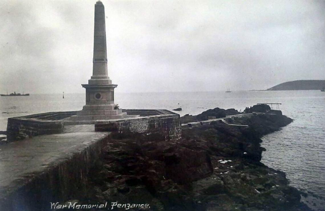 War memorial prior to Jubilee Pool
