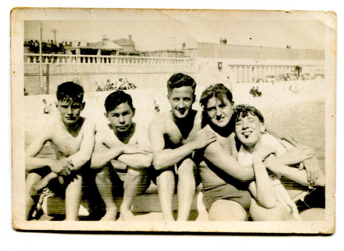 Boys at Jubilee Pool