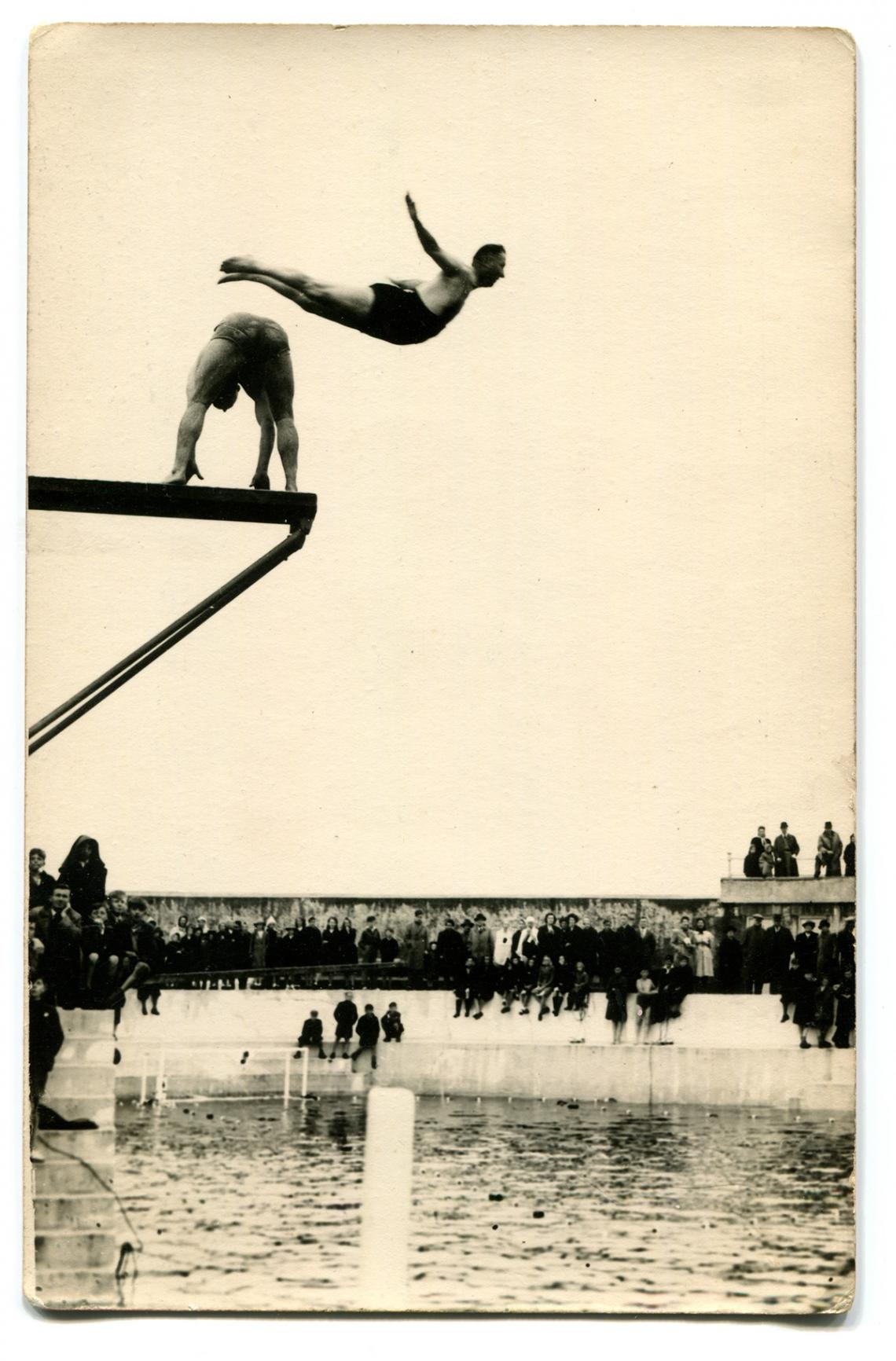 Jubilee Pool reopening after the war