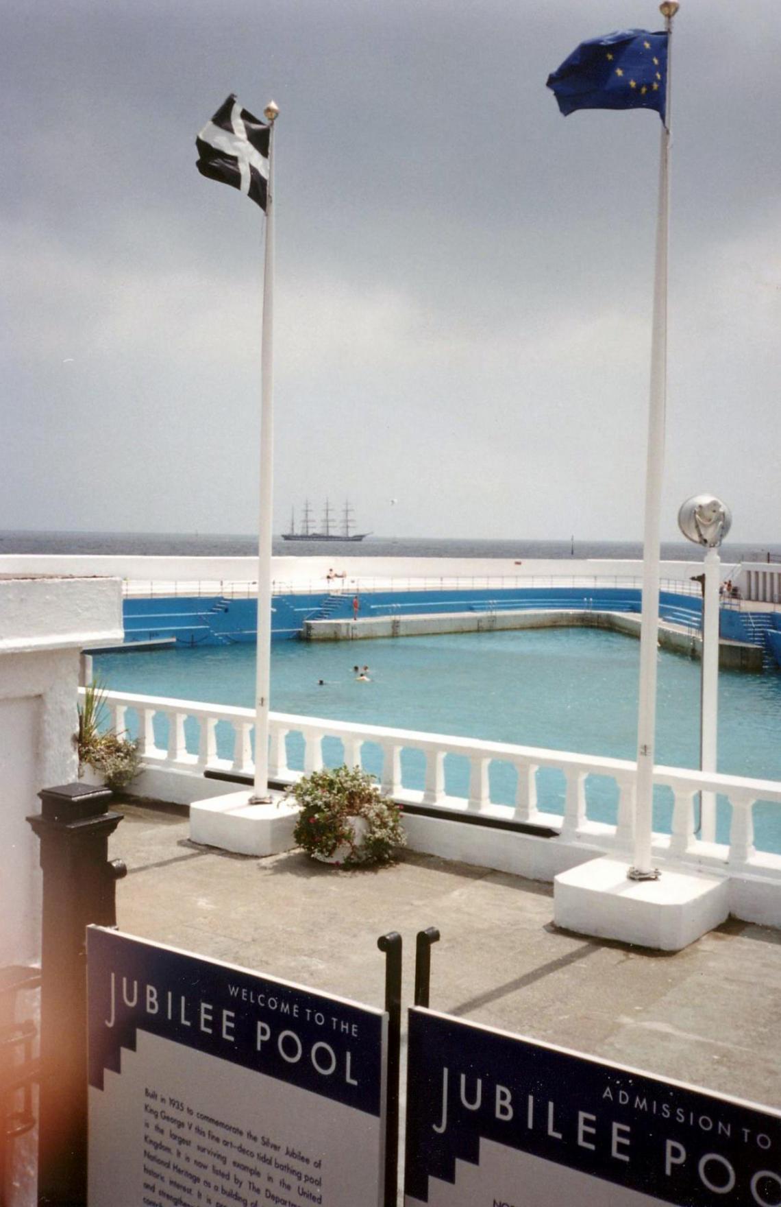 Summer at Jubilee Pool