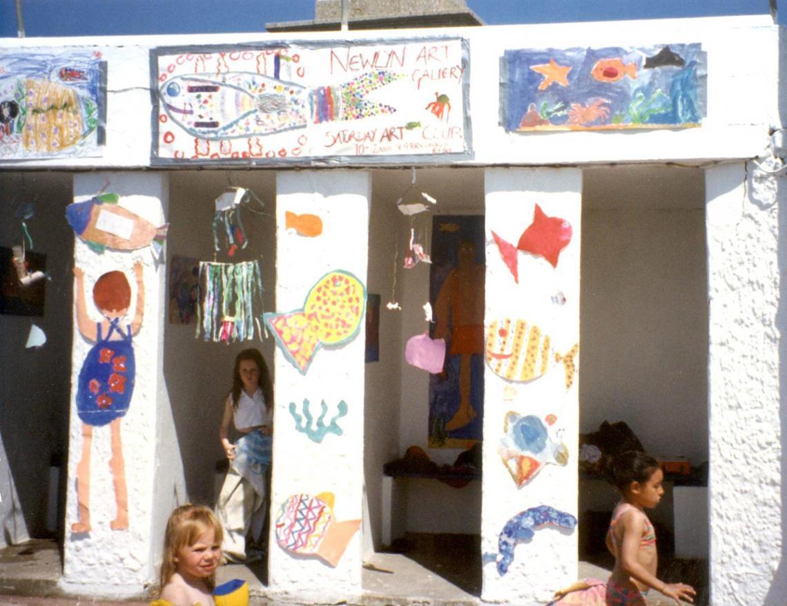 Schools' art competition at Art75