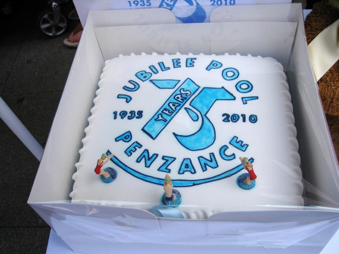 75 years celebration cake