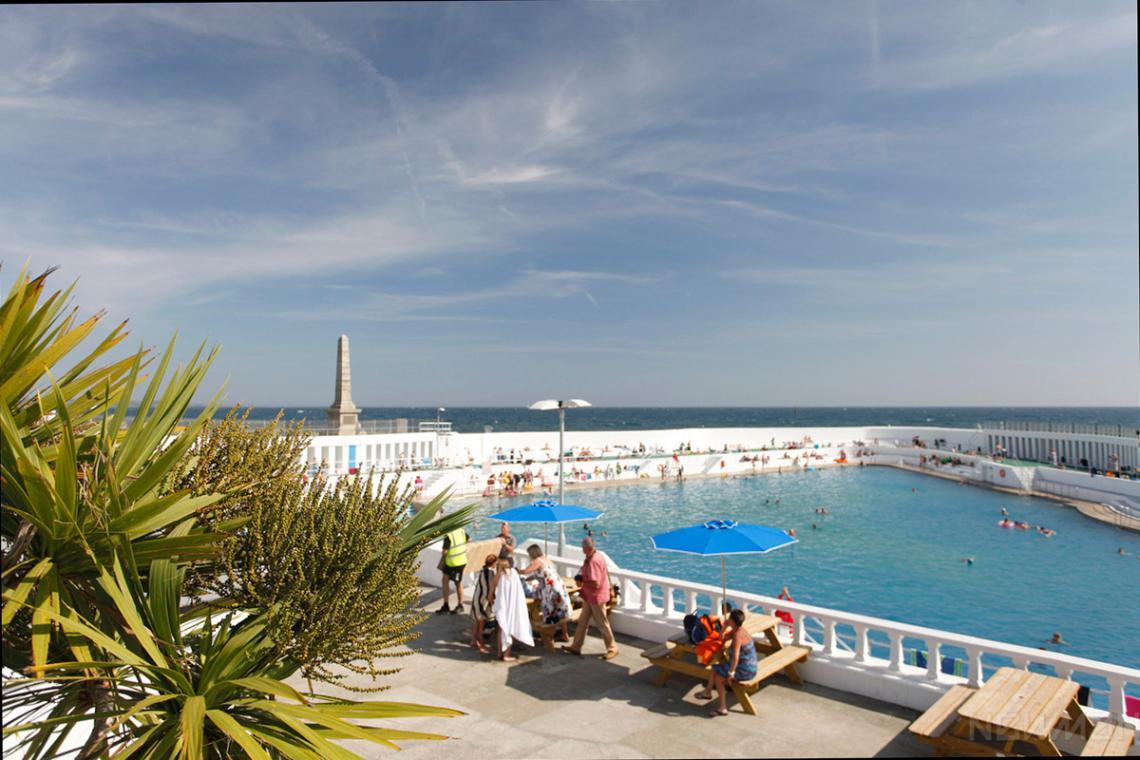 Jubilee Pool terrace