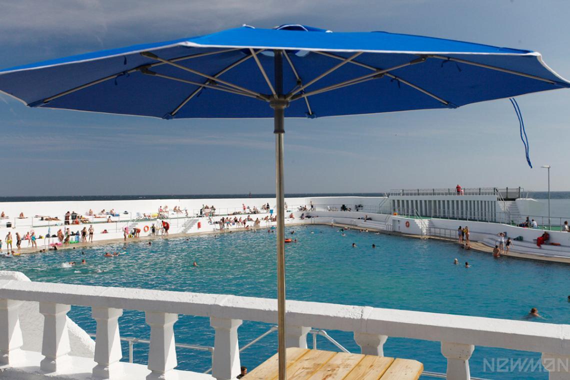Jubilee Pool parasol
