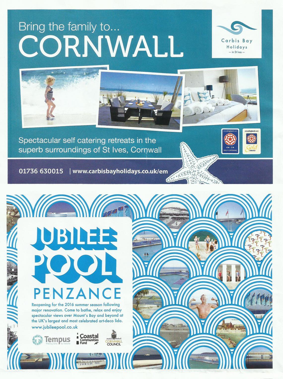 Railway magazine Cornwall advert