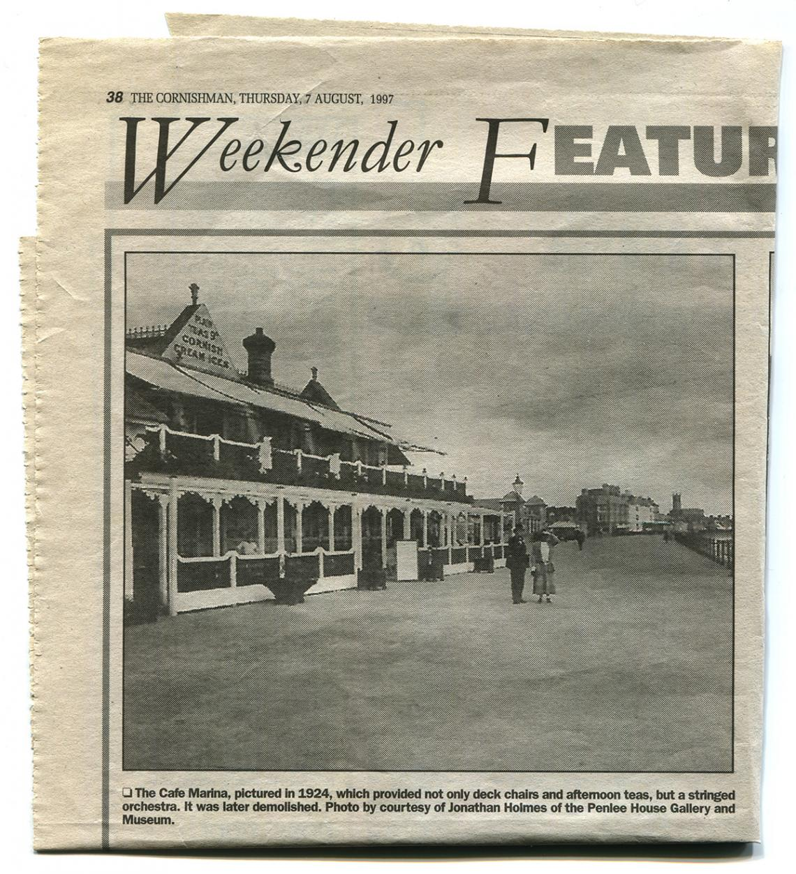 The Café Marina in 1924