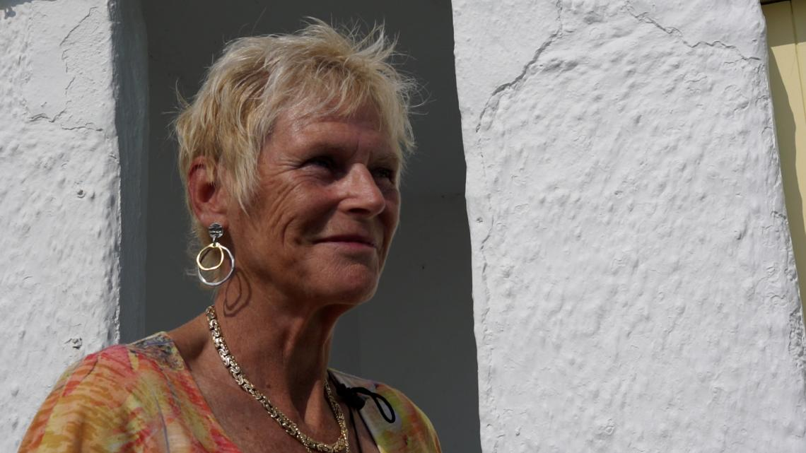Liz Nicholls talks