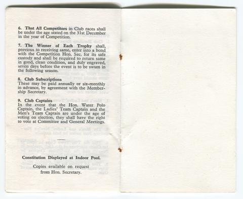 Membership card page 5