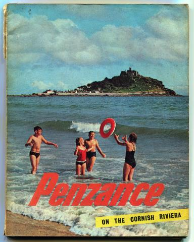 Front cover of Penzance guide