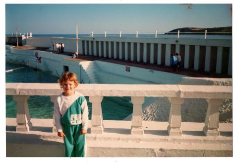 Hannah May, circa 1988