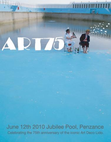 Flyer for Art 75