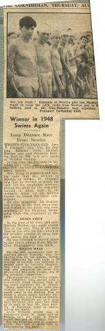 The Cornishman - Winner in 1948 Swims Again