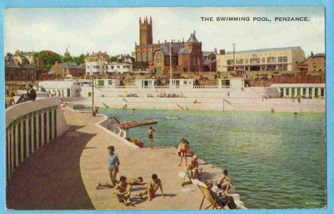 Jubilee Pool in the summer