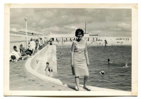 Pat Jilbert at Jubilee Pool