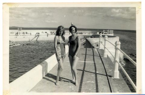Pat Jilbert, right, with her friend Rose