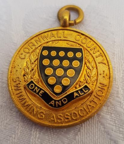 Liz Jilbert County medal backstroke