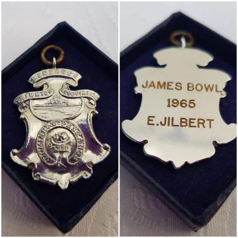 Liz Jilbert James Bowl medal
