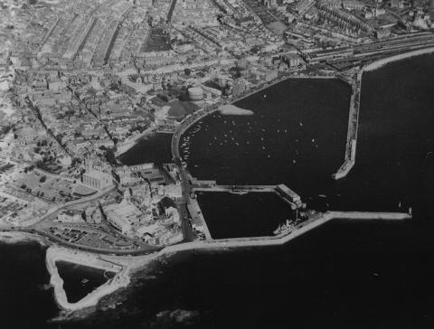 Aerial photo of Penzance