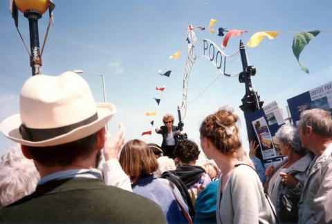 Jan Harvey at the 'Grand Re-opening' of 1994