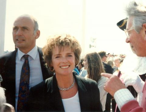 Jan Harvey at 'Grand Re-opening' of 1994