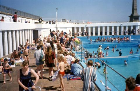 'Grand Re-opening' of Jubilee Pool