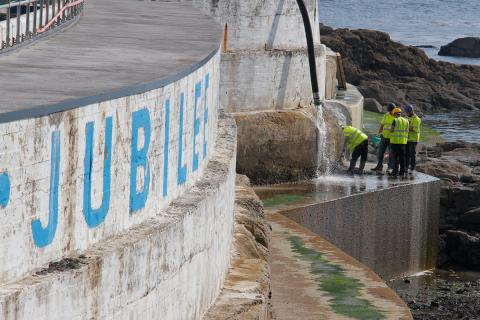 Jubilee Pool repairs: exterior