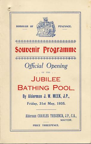 Front cover of Opening Day brochure