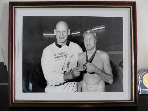Kit Knight and Duncan Goodhew