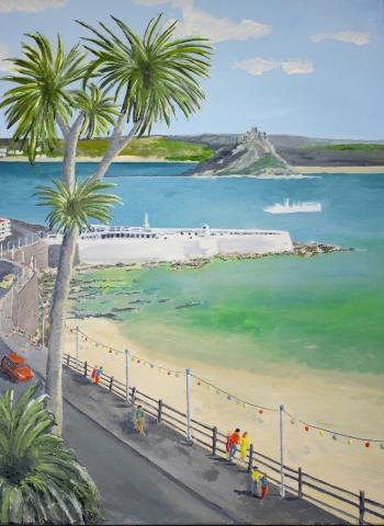 Jubilee Pool and Prom Painting