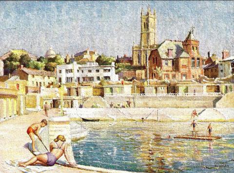 Jubilee Pool artcard