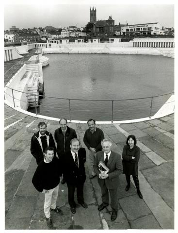 Jubilee Pool's listing and Heritage Lottery funding confirmed